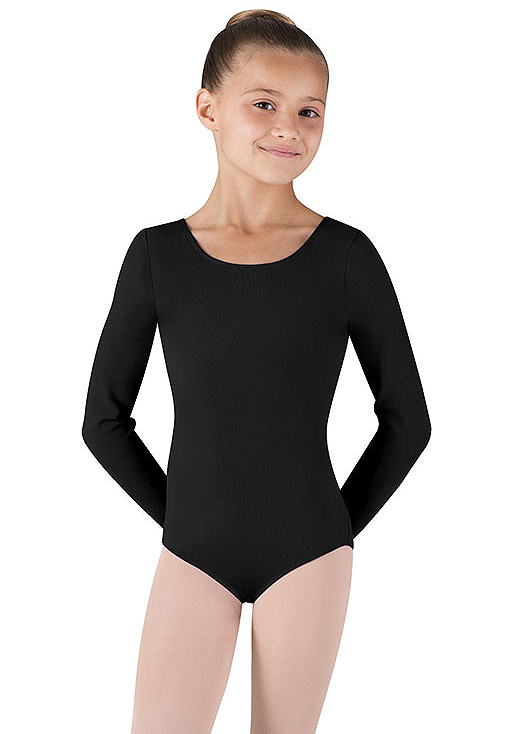 Childrens Long Sleeve Leotard by Bloch