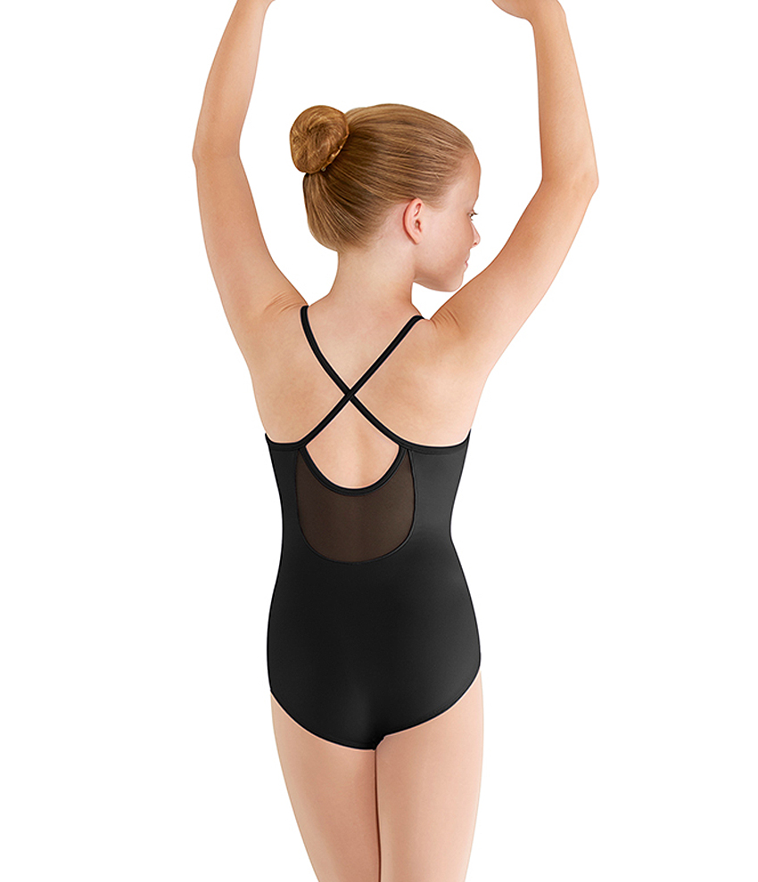 Girls X-Back Camisole Leotard by Mirella