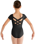 Childrens Bellflower Strap Back Leotard by Bloch