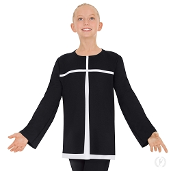 Children's Devout Split Layer Tunic by Eurotard