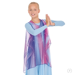 Children's Soft Skies Draped Tunic by Eurotard