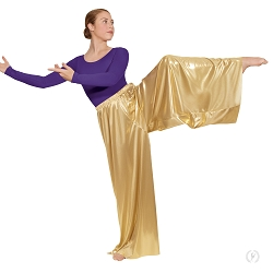 Metallic Palazzo Pants by Eurotard