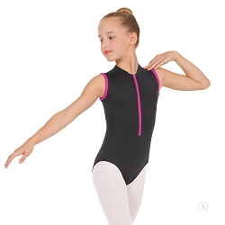 Girls Full Back Zipper Front Leotard by Eurotard