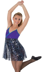 Luminous Sequins Camisole Dress by Body Wrappers
