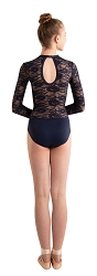 Children's Lace Shiny Bra & Brief Leotard by Body Wrappers