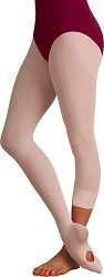 Plus Size Soft Supplex Convertible Tights by Body Wrappers