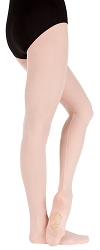 TotalSTRETCH Sheer Weight Mesh Backseam Tights by Body Wrappers