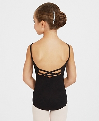 Childrens V-Neck Camisole Leotard by Capezio