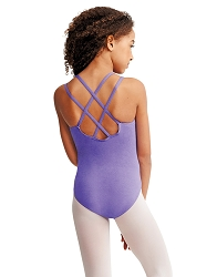 Childrens Double Strap Camisole Leotard by Capezio