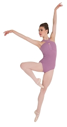 Cross-Over Neck Leotard by Premiere