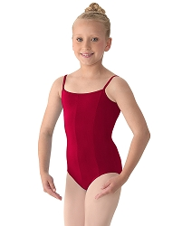 Childrens Seamed Camisole Leotard by Mirella