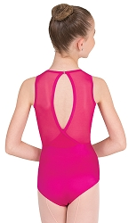 Tween Power Mesh Slit Back Leotard by Premiere