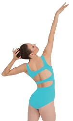 Asymmetrical Back Strap Leotard by Premiere