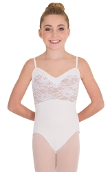Tween Sweetheart Lace Bodice Leotard by Premiere
