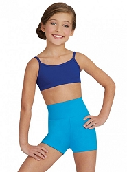 Childrens High Waisted Short by Capezio