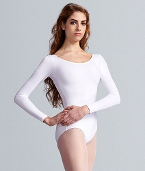 Plus Size Team Basic Long Sleeve Leotard by Capezio