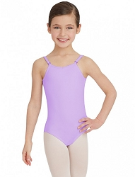 Childrens Team Basic Adjustable Strap Camisole Leotard by Capezio