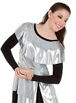 Adult Metallic Tunic Pullover by Body Wrappers